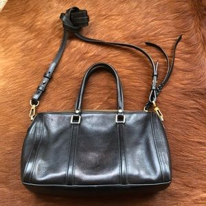 "Adorable black purse ""fossil brand"""